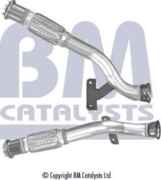 BM Catalysts BM50434 - Труба выхлопного газа www.avaruosad.ee