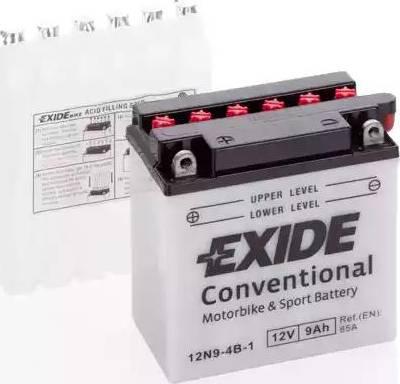 Exide 12N9-4B-1 - Starter Battery www.avaruosad.ee