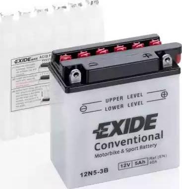 Exide 12N5-3B - Starter Battery www.avaruosad.ee