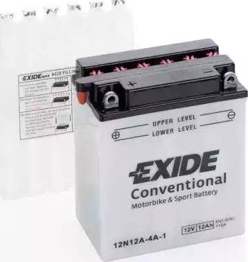 Exide 12N12A-4A-1 - Starter Battery www.avaruosad.ee