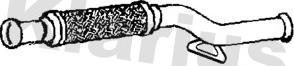 Klarius 110729 - Труба выхлопного газа www.avaruosad.ee