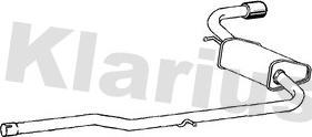 Klarius 211244 - Глушитель выхлопных газов конечный www.avaruosad.ee
