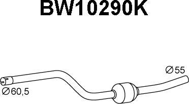Veneporte BW10290K - Katalüsaator www.avaruosad.ee