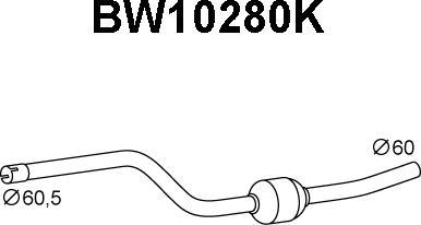 Veneporte BW10280K - Katalüsaator www.avaruosad.ee