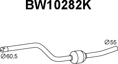 Veneporte BW10282K - Katalüsaator www.avaruosad.ee